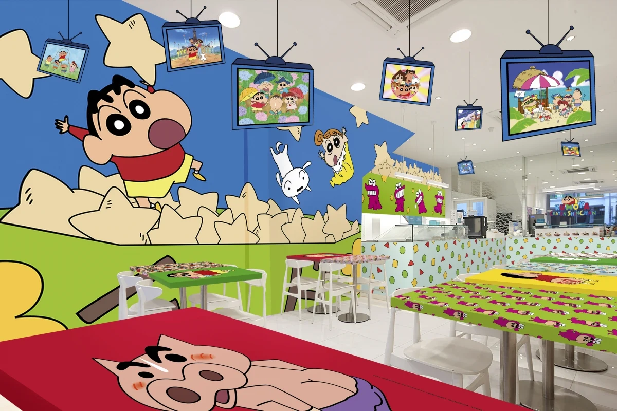Crayon Shinchan cafe Singapore