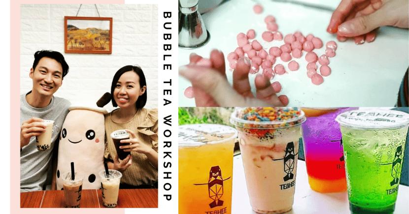 30% Off Bubble Tea-Making Workshop At Bishan - Live Your Tea Barista Dreams
