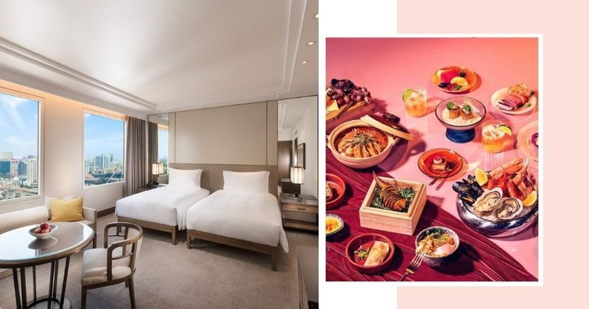 5-Star Hotel In Singapore Has Staycation Package Including Free Breakfast & Buffet Dinner