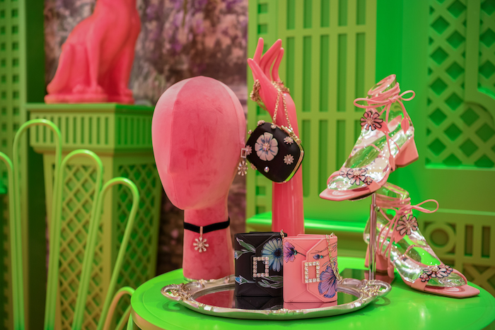bags and shoes at Roger Vivier Cat Garden singapore
