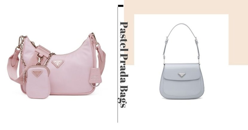 New Prada Bags In Pastel Colours Are Now Available Online In Singapore