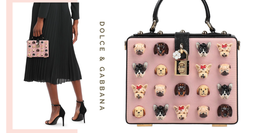 Dolce & Gabbana Has A Pink Mini Bag With Cute 3D Dog Embellishments, Get It In Singapore