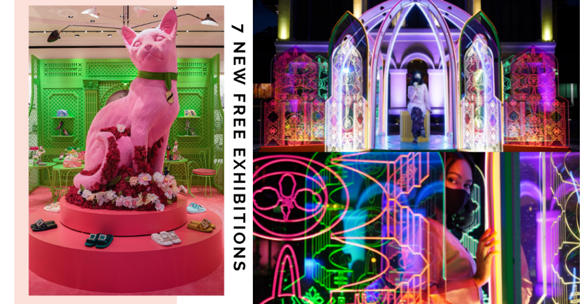 7 New Free Insta-Worthy Exhibitions, Installations & Displays In Singapore