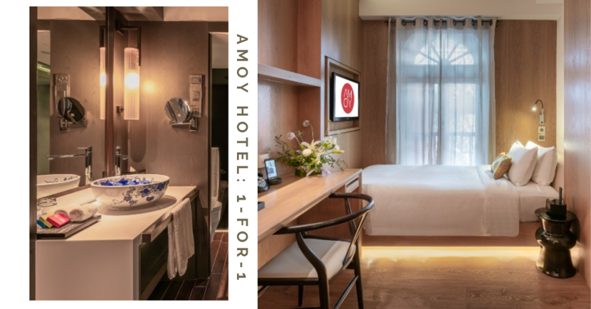 1-For-1 Staycation From $55/Night Per Pax: Lesser-Known Hotel In Town w/ Free Breakfast & Hidden Entrance