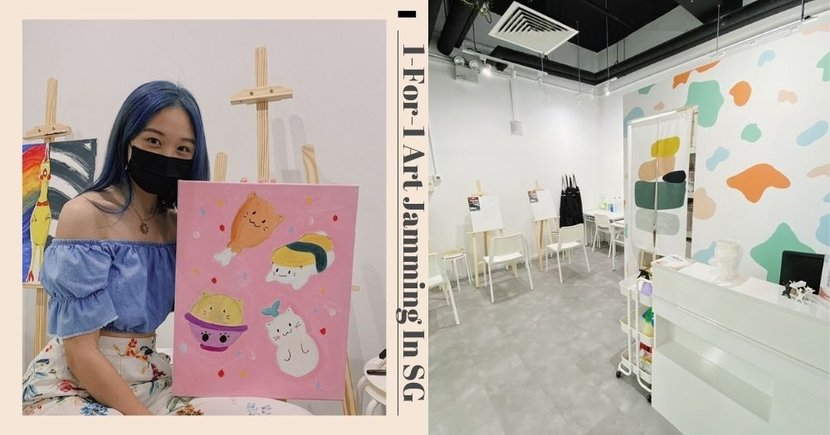 $17.50/Pax 3-Hour Art Jamming Experience At New Studio In Singapore Till End May 2021