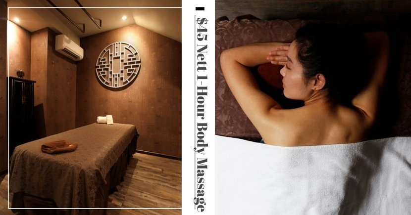 $45 Nett Ladies' Special 1-Hour Full Body Massage At This Spa With 3 Outlets In Singapore