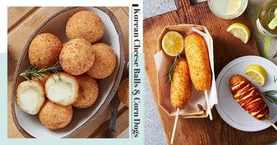 Get Korean Cheese Balls, Pancakes & Corn Dogs Online In Singapore At Affordable Prices