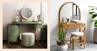 7 Luxurious Dressing Tables You Can Shop Online In Singapore To Elevate Your Morning Routine
