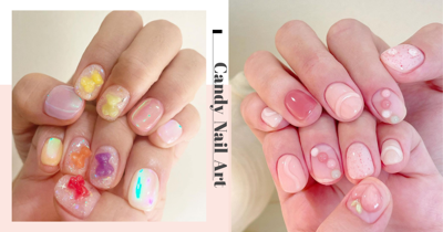 12 Gorgeous Candy-Inspired Nail Art Designs With 3D Jelly Effect Popular In Korea & Japan
