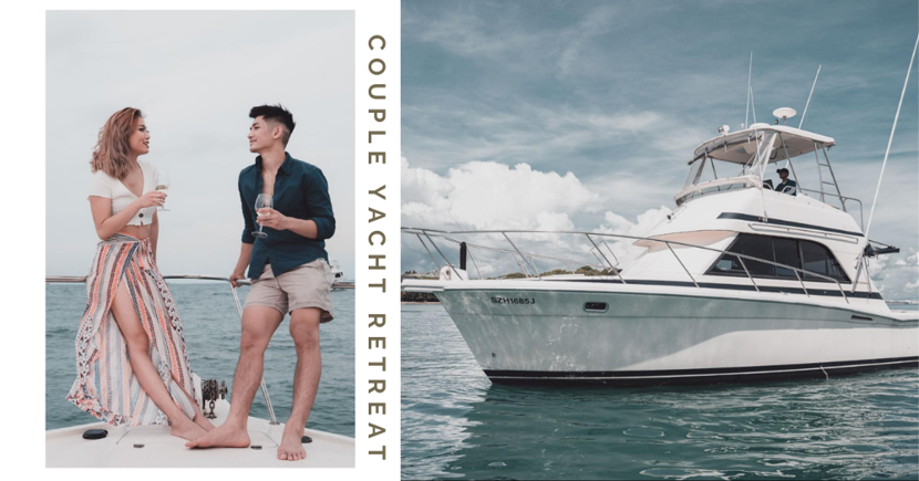 Couple Yacht Retreat Departing From Sentosa Comes With Free Photoshoot With Drone Shots, Costs Only $150 Per Person