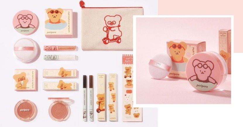 K-Beauty Brand Peripera Collaborates With Adorable Teteum Bear Character, Now Available In SG