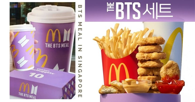 BTS Meal Is Finally Launching In McDonald's Singapore On 21 June, Remember To Mark Your Calendar