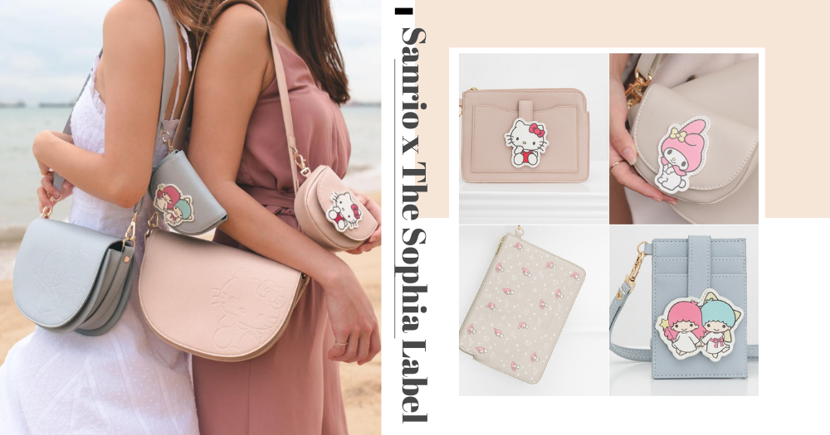 """New Sanrio """"Pastel Galaxy"""" Themed Bags, Pouches & Cardholders By Singaporean Fashion Store Just Launched Today"""