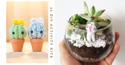 11 DIY Activity Kits With Free Delivery To Make Aesthetically-Pleasing Items & Quell Boredom At Home