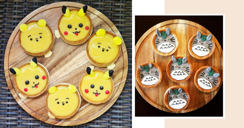 Adorable Character Tarts You Can Order From Home-Based Bakery In Singapore