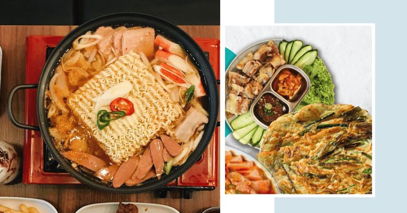 $55 Nett For 4 Promo: Korean Army Stew, Pancake & Pork Bo-ssam W. Free Delivery In NorthEast Singapore