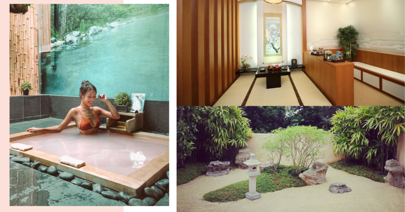 40% Off Japanese Onsen + 1-Hour Massage At This Gorgeous Spa In Singapore With A Zen Garden