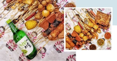 $1/Stick Lok Lok & Free Soju With Every Order, Available For Takeaway & Islandwide Delivery