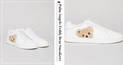 New Palm Angels Teddy Bear Sneakers Are Too Adorable, Can Be Shipped To Singapore