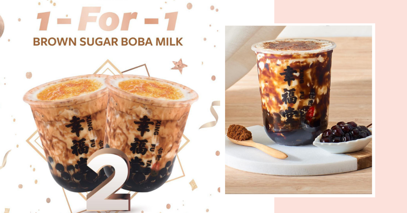 Xing Fu Tang Singapore Has A 1-For-1 Bubble Tea Promo For A Limited Time