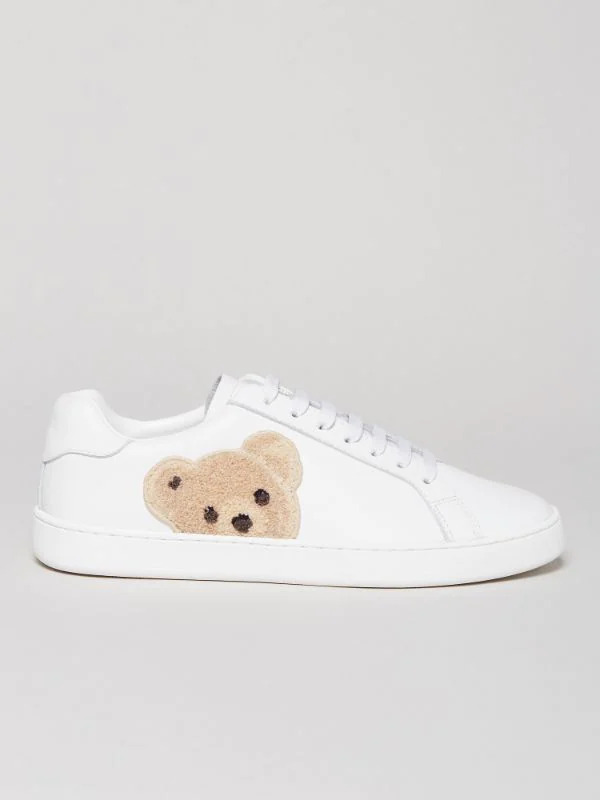Palm Angels Teddy Bear Tennis Sneaker side view