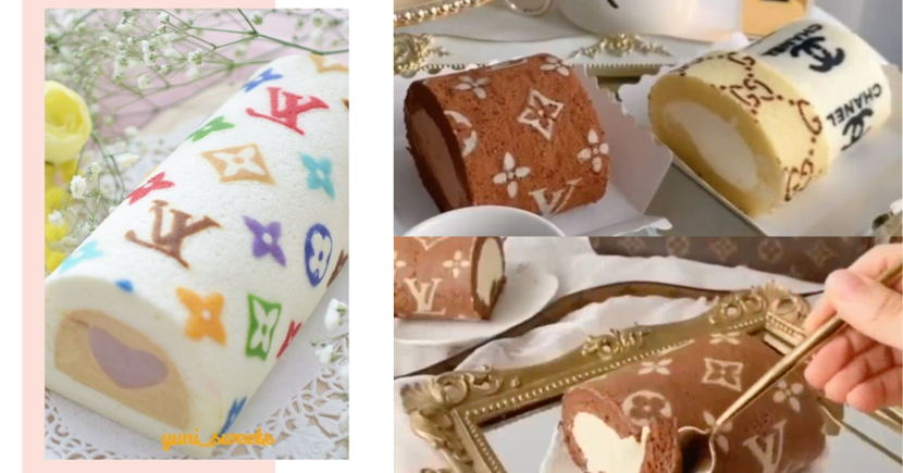 Bake Louis Vuitton & Chanel Branded Roll Cakes With These Affordable Baking Stencils In Singapore
