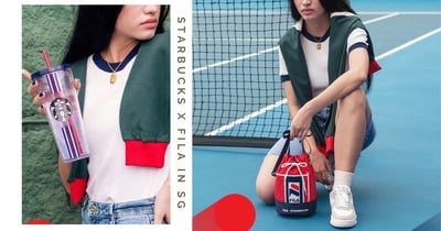 New Starbucks x FILA Collection In Singapore Includes Fashionable Street-Style Wearables & Drinkware