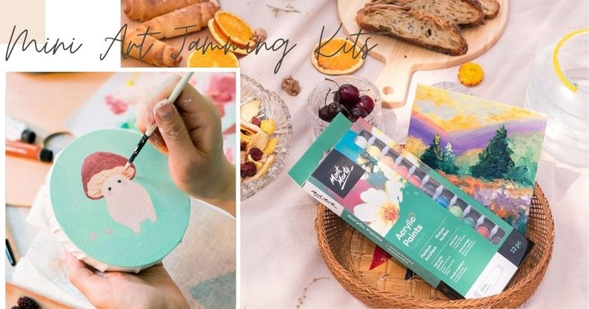 These Mini Art Jamming Kits Available Online In Singapore Are Perfect For 2 Pax Dates