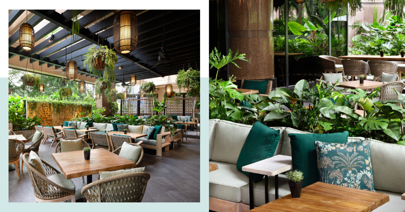New Lush, Garden Restaurant & Bar In Singapore Has Free Chargrilled Meat W. Drink Purchase In July