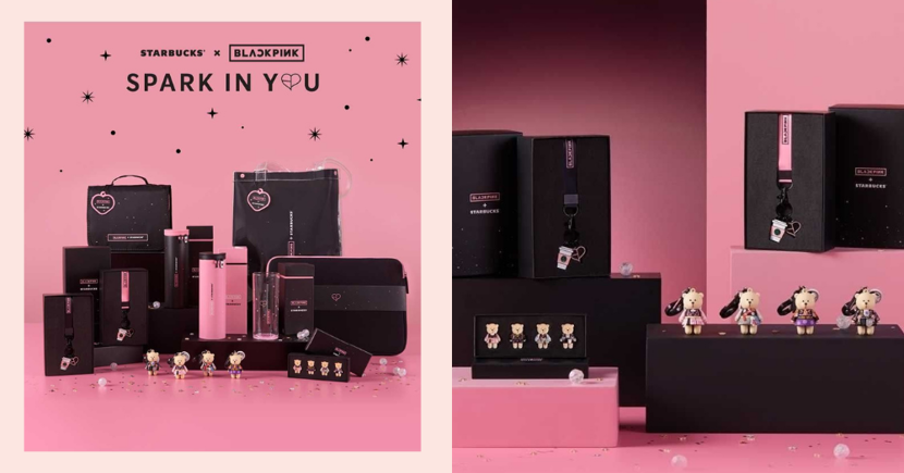 New Starbucks X BLACKPINK Merchandise Is Available For Pre-Order Online In Singapore