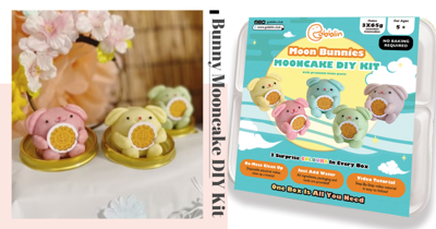 Make Your Own Bunny-Shaped Snowskin Mooncakes In Sweet Pastel Shades With This DIY Kit In Singapore