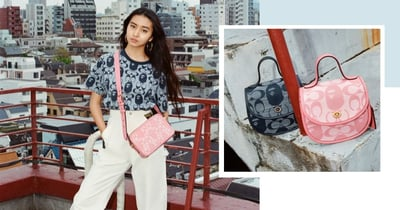 New BAPE x Coach Collection In Singapore Launching On 24 July Has Pink Bags & Street-Style Apparel