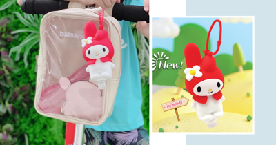 Walch x Sanrio: New My Melody Hand Sanitiser Holder In Singapore You Can Keep Reusing