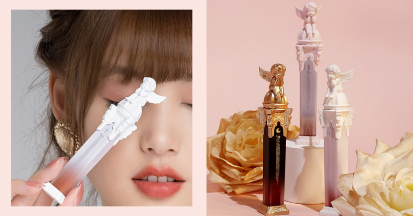 Ethereal Angel Statue Lipsticks Come In Flattering Milk Tea Shades With A Velvety Matte Finish