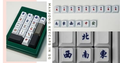 Mahjong Enthusiasts Will Love These Affordable Keycaps Available In Singapore