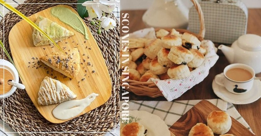 6 Online Bakeries To Get Scones From In Singapore For A High Tea Session At Home