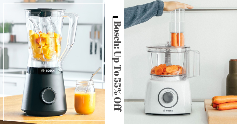 Get Up To 55% Off Bosch Blenders, Mixers, Electric Whisks & More With Purchase Of Magnolia Fresh Milk