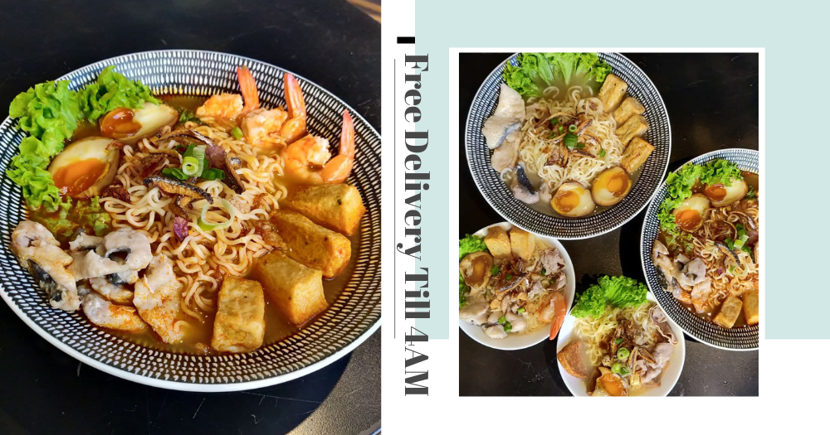 """This Eatery Has $2 Beer & Ke Kou Mian """"Zhng-ed"""" With Hanjuku Egg, Open Till 4am With Free 1H Delivery"""