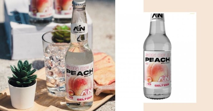 New Peach Sparkling Alcohol In Singapore For Just $4.50 Has A Light & Sweet Taste