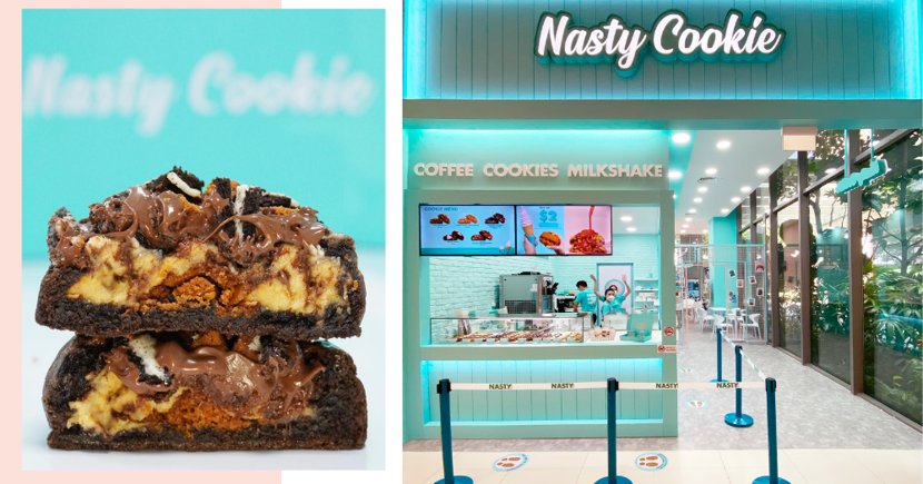 20% Off All Cookies For One Day Only At The New Nasty Cookie Cafe At Jurong East