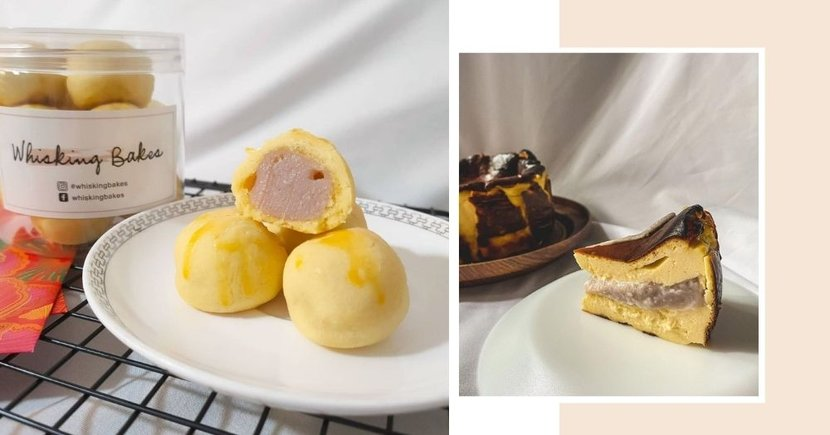 New Store In Singapore Has All Things Taro From Tart Balls To Basque Burnt Cheesecake
