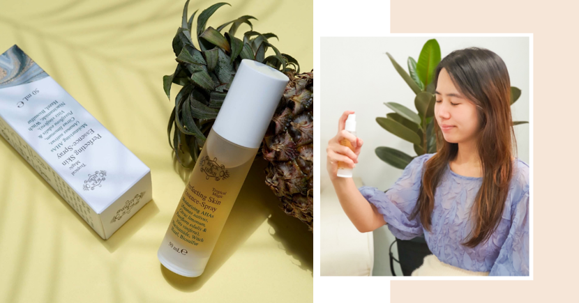 This Time-Saving Skincare Product Moisturises, Brightens & Treats Acne With Just A Quick Spray