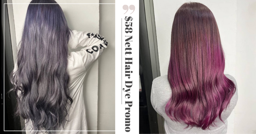 Salon With 5 Outlets Has $58 Nett Hair Colouring Service With Free Haircut & Scalp Treatment Till Dec 2021