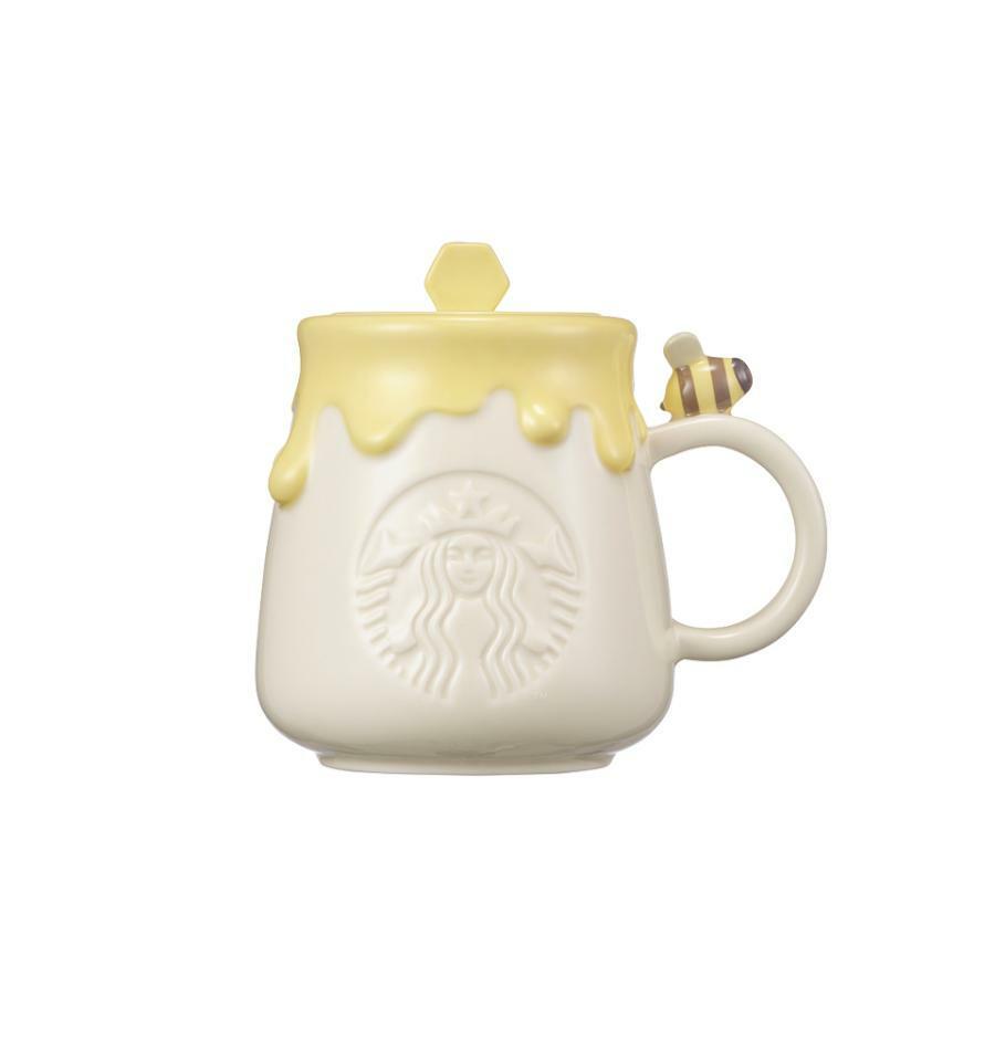 Starbucks Korea Autumn collection 2021_ Siren Honeybee Mug & Lid