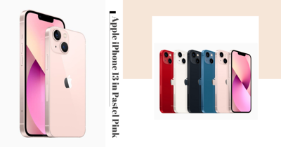 New Pastel Pink iPhone 13 And iPhone 13 Mini Will Be Available In Singapore This September