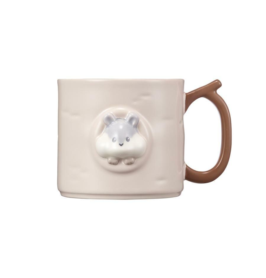 Starbucks Korean 2021 Autumn collection_Autumn Animal Squirrel Mug