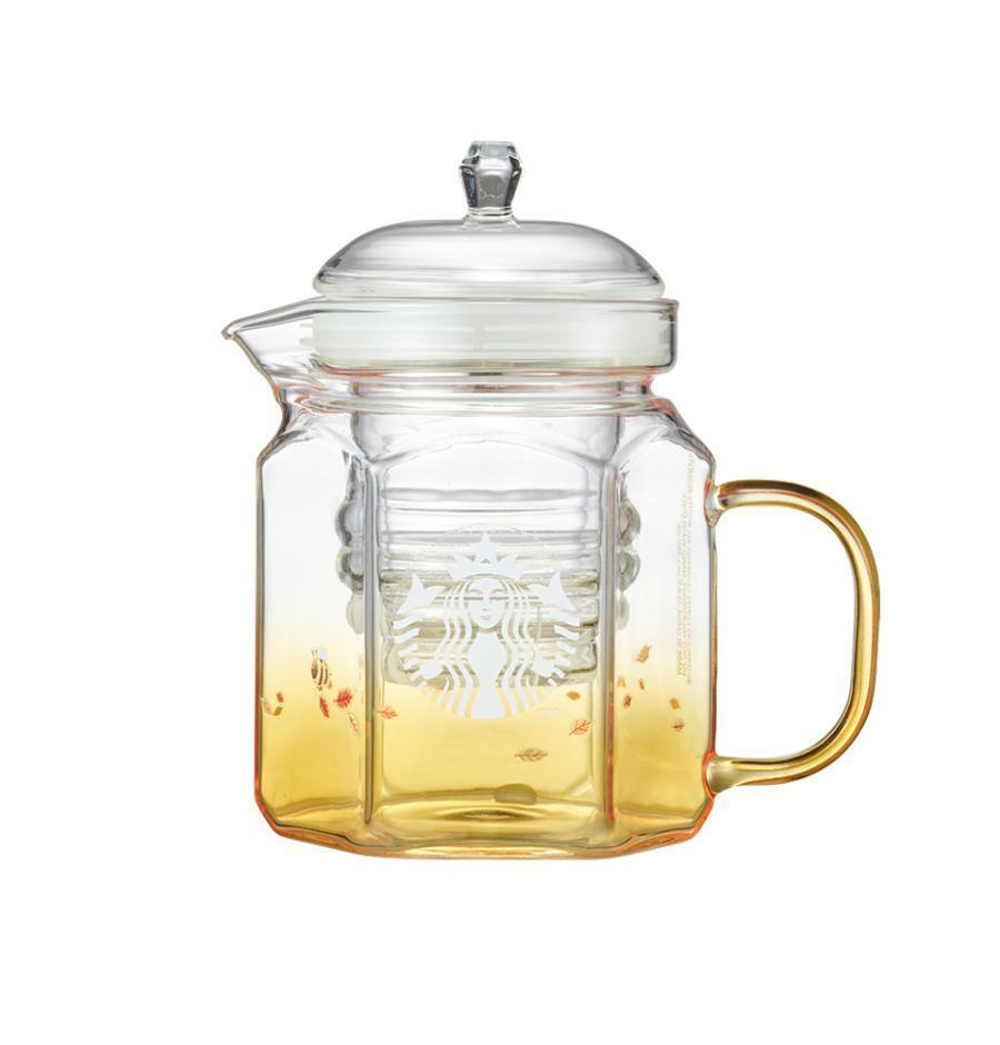Starbucks Korea Autumn collection 2021_Siren Honeybee Glass Tea Pot