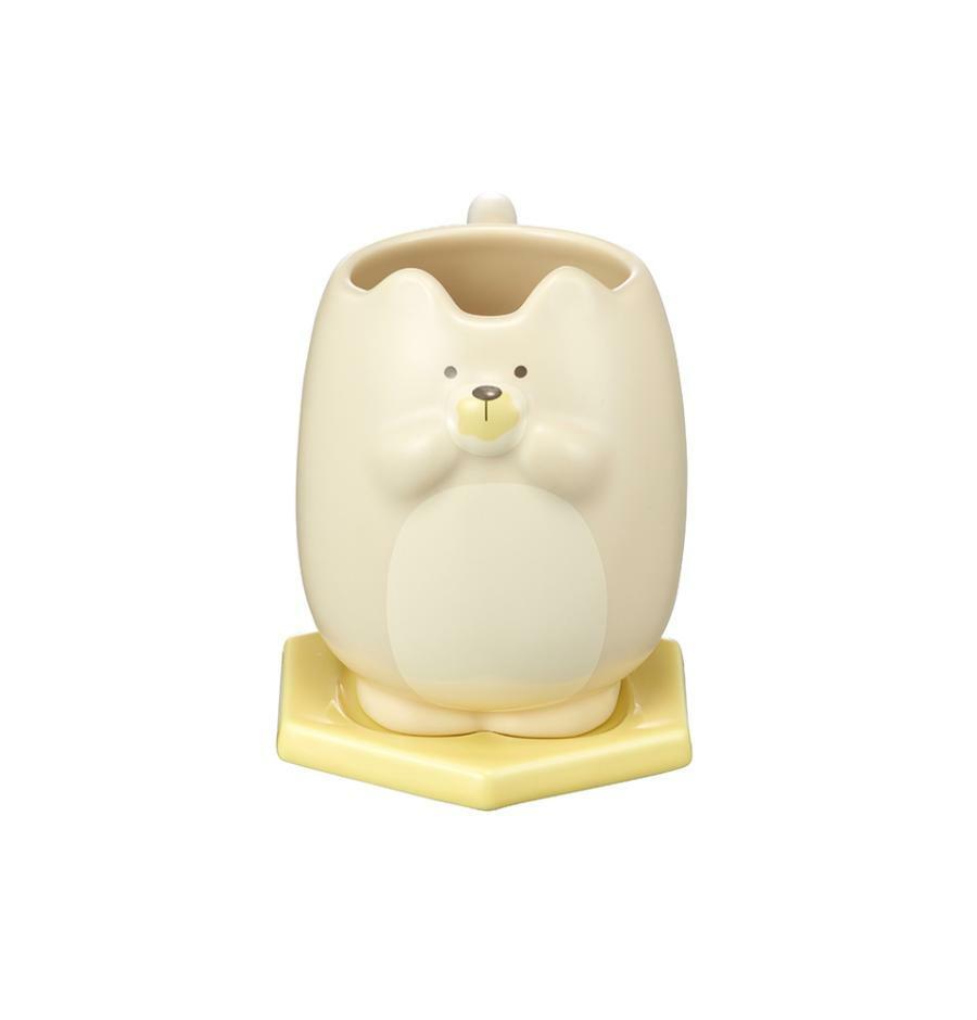 Starbucks Korea Autumn collection 2021_ Autumn Animal Bear Mug & Saucer