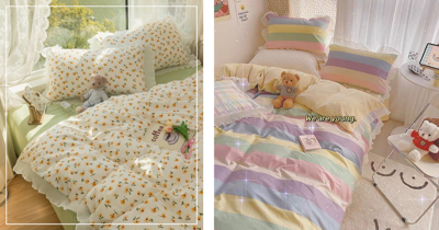 9 Gorgeous Korean-Style Bedding In Singapore For An Aesthetic Bedroom