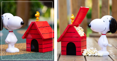New Golden Village Snoopy Popcorn Bucket & Tumbler In Singapore: Free With Combo or Purchase Separately